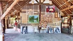 Art Everywhere (Sarperdong) Tags: wood architecture painting artwork philippines bohol dauis beefarm fujifilmph
