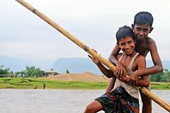 Little Boatman (aomi_1992) Tags: friendship outdoor sylhet boatman