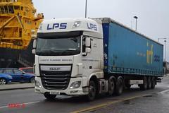 DAF XF 'L.P.S' reg EU15 SZR (erfmike51) Tags: lorry artic lps dafxf curtainside euro6