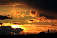 R.Kelly2442a (dobienet) Tags: sunset clouds scotland