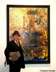 Dr. Takeshi Yamada and Seara (Coney Island Sea Rabbit) at the Chelsea art gallery district in Manhattan, New York on May 12, 2015.  20150512 007=C1 (searabbits23) Tags: ny newyork sexy celebrity rabbit art hat fashion animal brooklyn asian coneyisland japanese star tv google chelsea king artist gallery dragon god manhattan famous gothic goth uma ufo pop taxidermy vogue cnn tuxedo bikini tophat unitednations playboy entertainer oddities genius mermaid amc mardigras salvadordali performer unicorn billclinton seamonster billgates aol vangogh curiosities sideshow jeffkoons globalwarming mart magician takashimurakami pablopicasso steampunk damienhirst cryptozoology freakshow seara immortalized takeshiyamada roguetaxidermy searabbit barrackobama ladygaga climategate  manwithrabbit