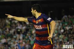 Betis - Barcelona 101 (VAVEL Espaa (www.vavel.com)) Tags: fotos bara rbb fcb betis 2016 fotogaleria vavel futbolclubbarcelona primeradivision realbetisbalompie ligabbva luissuarez betisvavel barcelonavavel fotosvavel juanignaciolechuga