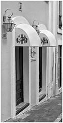 Ritas (Black and White Fine Art) Tags: leica bw lamp kodak oldsanjuan puertorico streetlamp bn sanjuan aviary viejosanjuan ritas lightroom kodaktrix400 kodakd76 lapara lightroom3 epsonperfectionv500scanner lamparacallejera leicalllf1951 summitar50mmf201951