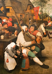 IMG_8309 (jaglazier) Tags: vienna wien trees houses girls music art dutch musicians architecture rural portraits buildings painting children austria landscapes dancers crafts january cities festivals beards villages roads bagpipes northern museums flemish urbanism renaissance bearded peasants woodenbuildings oilpainting villagers streetscapes musicalinstruments 16thcentury kunsthistorischesmuseum dances deciduoustrees 2016 1416 16thcenturyad bruegel pieterbruegeltheelder thepeasantdance 1567ad copyright2016jamesaglazier