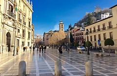 Plaza nueva, Granada. (eustoquio.molina) Tags: plaza españa andalucía spain monumento ciudad alhambra granada urbana nueva