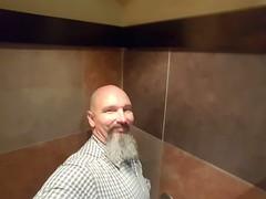 Nice Restroom's (cjacobs53) Tags: goatee bald cj restroom jacobs clarence selfie jacobsusa