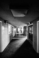 Emergency Lighting (forgottenbeautyphotography) Tags: history abandoned connecticut urbandecay ct prison urbanexploration jail correctionalfacility institutionalization