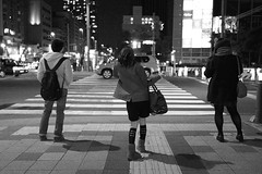 DSC00341 bw (No Donuts For You) Tags: street japan night zeiss 35mm tokyo sony handheld f2 jpg jpeg ooc rx1