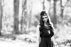 Valeria (mattbellphoto) Tags: blackandwhite bw film 35mm nikon hc110 apx100 agfa f90x 85mmf14 agfapan valeriasweet