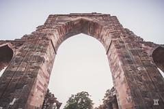 Delhi-26 (Expolre) Tags: india heritage history stone architecture vibrant delhi arches palace villages monuments towns qutub minar carvings minarets