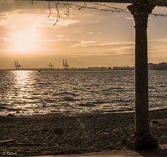 Baos del Carmen (svg74) Tags: sunset sea sol beach contraluz atardecer mar andaluca spain playa costadelsol mediterrneo mlaga baosdelcarmen