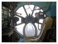Speyer - Technikmuseum Speyer - Antonov A-22 Navigator chair 02