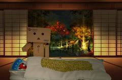 Vache qui rit,  moiti dans ton lit!  (Damien Saint-) Tags: toy amazon vinyl yotsuba danbo revoltech danboard