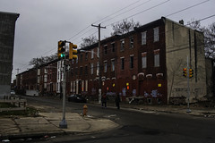 Life Among Ruins (phillytrax) Tags: city urban usa brick abandoned philadelphia america unitedstates pennsylvania decay pa metropolis philly oxfordstreet metropolitan northphiladelphia rowhouses 215 northphilly rowhomes cityofbrotherlylove sharswood