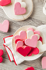 Heart Shaped Valentine's Day Sugar Cookies (brent.hofacker) Tags: pink red food white holiday love cookies cake dessert cookie day heart symbol sweet shaped anniversary decorative background decoration tasty valentine romance sugar celebration delicious biscuit homemade sprinkles gift bakery snack pastry valentines icing romantic shape shortbread valentinesday frosting baked glazed decorated sugarcookies heartcookies heartcookie shortcrust heartshapedcookies