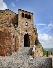 DSC_0862-0864 Civita di Bagnoregio (VT) (Giovanni Pilone) Tags: torre edificio porta viterbo architettura bastione lazio rovine civitadibagnoregio allaperto