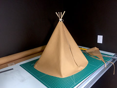 First version (Dunstan) Tags: teepee tipi