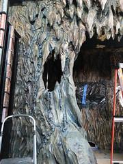 Bat cave build (Pywackyt) Tags: painting props bats sculpting texturing setdec scenicdesign setdecorating setbuilds
