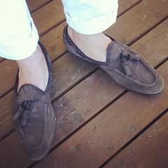 My favorite loafers from @santoniofficial #santoni... (Matti Airaksinen) Tags: clothing shoes trousers tassel shoeporn loafers menswear turo santoni tyyliniekka uploaded:by=flickstagram santoniofficial turoofficial instagram:photo=1008707236562265096302847616