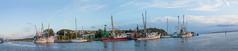 Shem Creek (agilityfoot) Tags: panorama sc shrimpboats 2015 shemcreek charlestonareaouting
