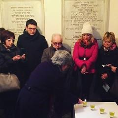 #giornodellamemoria accensione dei lumi #casalemonferrato #sinagoga