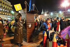 CARNAVAL 2016  (Burgos) (Lumiago) Tags: espaa spain fiesta nocturna carnaval plazamayor burgos castillaylen carnavales2016