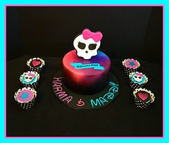 Monster High Cake by Amy, Northern Utah, www.birthdaycakes4free.com