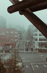 Wall St, Seattle (annapolis_rose) Tags: seattle winter washington foggy wallstreet alaskanway edgewaterhotel