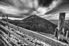 Koznik (Djordje Petrovic) Tags: sky blackandwhite bw mountain castle nature serbia tokina srbija tokina1224mm nikond80 monohrom