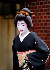 (--5 (nobuflickr) Tags: japan kyoto maiko geiko       miyagawachou   20160118dsc08852