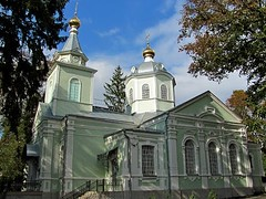 Храм прп.Серафима Саровского (в Пуще-Водице)