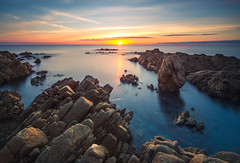 (Daniele Brotzu) Tags: sardegna sea water sunrise long exposure nd