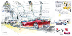 Invalides_Concept cars (velt.mathieu) Tags: car sketch croquis paris concept festival automobile international dessin invalides mathieu velt mathieuvelt