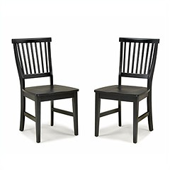 Home Style 5181-802 Arts and Crafts 2-Piece Dining Chair, Black Finish (sideboardbuffet) Tags: wordpress ifttt