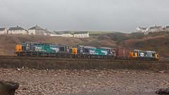 Heavy Metal Rock Trio (Richie B.) Tags: english electric rail class iso cumbria british 37 services direct parton fna drs 37069 37401 37609 6c22