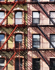 Escapism VI: At The Herringbones' (nrg_crisis) Tags: fire escape manhattan nyc architecture sonydschx9v