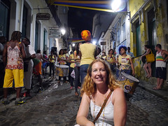 Carnaval 2016, Salvador - In the Pelourinho a few days before (seralat) Tags: brazil bahia lou salvador carnaval dida pelourinho