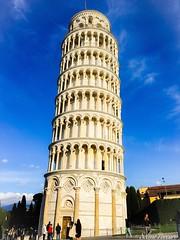 Pisa (part of me) (sele1108) Tags: city sky italy art italia bluesky pisa tuscany toscana torrependente piazzadeimiracoli torredipisa theleaningtower
