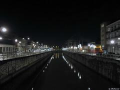 Canal nightshot (Shahrazad26) Tags: brussels nightshot belgium belgique belgi bruxelles brussel molenbeek nachtopname