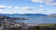 Gourock & Cowal Peninsula (Rourkeor) Tags: houses sea sky water clouds zeiss 35mm buildings t boats islands scotland greenock unitedkingdom sony hills gb fullframe peninsula gourock dunoon sonnar carlzeiss rx1r sonyrx1r