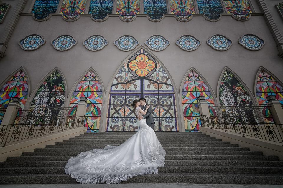 台南情定婚宴城堡永康館 婚禮攝影59