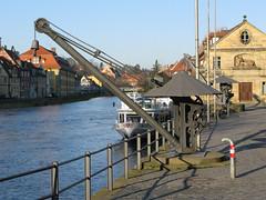 2008 12 26 Germania - Baviera - Bamberg - Untere Brucke_0037 (Kapo Konga) Tags: panorama fiume bamberg vista veduta germania citta citt baviera