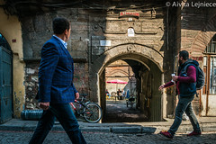 Kucukpazari 4 (aivitalejniece) Tags: street city travel winter people food building men tourism public architecture turkey lunch workers locals stock culture lifestyle landmark istanbul company editorial males historical turks turkish han hane