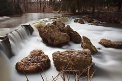 Der Wasserfall im Englischen Garten (joseph_donnelly) Tags: blur water rock germany munich münchen bayern deutschland bavaria waterfall rocks wasserfall motionblur filter nd englischergarten nd1000 bigstopper