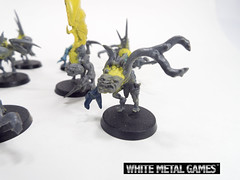 Ghoulish Horrors (whitemetalgames.com) Tags: pink blue white metal painting bash painted style games 40k horror warhammer kit themed alternative horrors wmg nurgle conversions ncraleighnorthcarolinacommissionservice