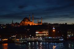 DSC_0364 (zeynepcos) Tags: bridge sunset sea sky cloud water skyline turkey boat ship waterfront view cloudy outdoor dusk istanbul mosque vehicle goldenhorn suleymaniye halic eminonu