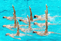 Synchronised Swimming Olympic Games Qualification Tournament - Rio de Janeiro (BRA) (fina1908) Tags: 2016 fina synchronisedswimming olympicgames brazil brasil qualificationtournament rio synchro sincro duet technicalitalyita riodejaneiro brazilbrasil bra olympics synchroogqt