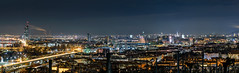Wien Panorama bei Nacht (Robert F. Photography) Tags: