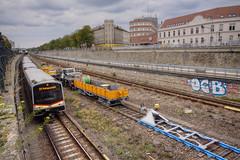 OCB (Herbalizer) Tags: vienna wien train graffiti austria sterreich metro linie zug wiener ubahn bahn untergrund wienfluss ocb