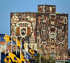 Universidad Nacional Autónoma de Mexico (Zlatan Papayalopulus) Tags: city school sky urban building architecture cu unam